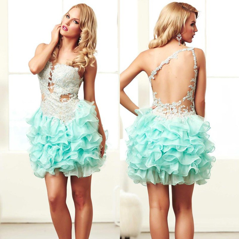 Backless Short Prom Dresses